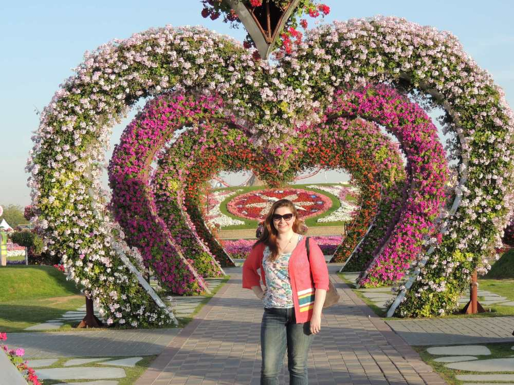 Taken at Dubai Miracle Garden
