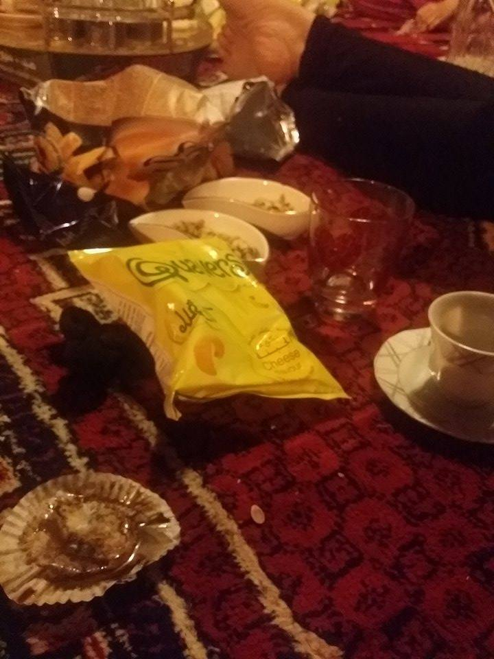 Low quality photo. High quality snacks.
