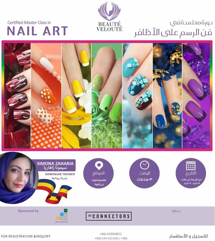 Nail Art Workshop Kendra In Ksa